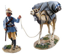 W Britain British Camel Corps Trooper And Pack Camel No 1 27030 Limited Edition