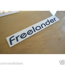 LUNAR Freelander - (STYLE 3) - Caravan Roof Name Sticker Decal Graphic - SINGLE