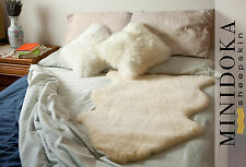 100% Natural Medical Sheepskin Underlay - Thick and Silky Soft Merino Wool - XL