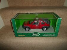 "Ertl Collectables Die Cast LAND ROVER FREELANDER RED 1/18"" Scale UNUSED IN BOX"