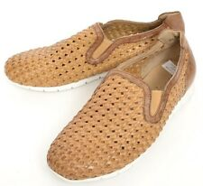Mens DONALD PLINER Hadyn Saddle Woven Calf Leather Sneakers Shoes 8 NIB $245!