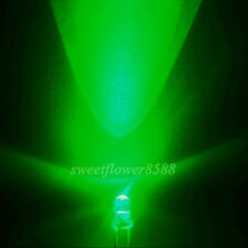 NEW 2000x 3mm Green 13000mcd LED Lamp Ultra Bright Led Light Bulb Green Led 3mm
