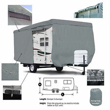 Deluxe Cruiser RV Fun Finder X X-160WB Travel Trailer Camper Storage Cover