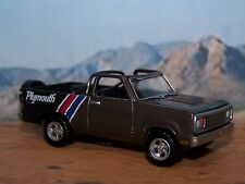 1977 77 PLYMOUTH 4x4 TRAIL DUSTER 1/64 SCALE MOPAR COLLECTIBLE MODEL - DIORAMA