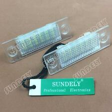 2Pcs 18-SMD LED Number-Plate Light For VW Jetta 2005-2010 2006 2007 2008 2009