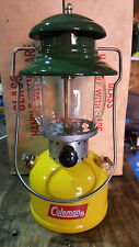 COLEMAN CANADA 1960s MODEL 200A RESTORED SINGLE MANTLE CORN LANTERN COLOR EXTRAS