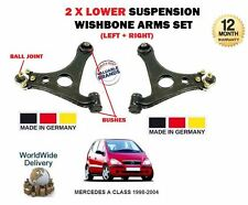 FOR MERCEDES A CLASS 1998-2004 NEW 2x LOWER LEFT+ RIGHT SUSPENSION WISHBONE ARM