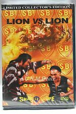 lion vs lion limited collector's edition ntsc import dvd