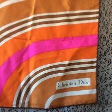 christian dior scarf Silk
