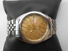 RARE VINTAGE SEIKO 5 DAY DATE JAPAN MENS AUTOMATIC WRISTWATCH