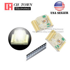 100PCS 0805 (2012) White Light SMD SMT LED Diodes Emitting Ultra Bright USA