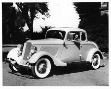 1933 Ford Deluxe 5 Window Coupe Factory Photo ad3732-FSTXDE