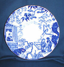Royal Crown Derby Blue Mikado Bread Plate