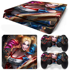 PS4 Slim Console and DualShock 4 Controller Skin Set - Harley