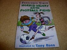 book - Horrid Henry and the football fiend
