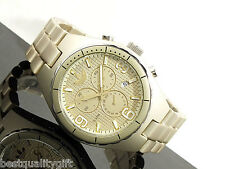 NEW ADIDAS CAMBRIDGE GOLD TONE ALUMINUM CHRONOGRAPH WATCH+DATE ADH2574-MSRP$150