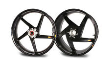 BST Carbon Fiber Rims Wheels Ducati Monster 696 796 S2 S4 900 1200 1100 EVO S4R