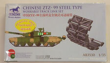 Bronco 1/35 Chinese ZTZ-99 Steel Type Workable Track Link Set AB3530