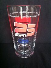 ESPN 25 Years Bud Light Glass Collectible