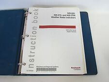 Collins Service Repair Manual Instruction Book IND-220 270 270A Weather Radar