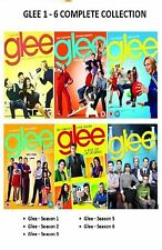 GLEE Complete Series DVD Box Set Collection Season 1 2 3 4 5 6 All Episodes New