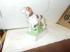 POINTER MINIATURE DOG BOTTLE - ONLY 1200 MADE - ALL NUMBERED ON BOTTOM- COLLECTO