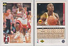 NBA UPPER DECK 1994 COLLECTOR'S CHOICE - Carl Herrera # 47 Ita/Eng MINT