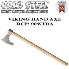 "The 30"" Viking Hand Axe With Hickory Hardwood Shaft - From Cold Steel"