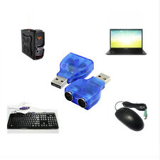 USB Male to PS2 Female Cable Adapter Converter Use For Keyboard Mouse  LD
