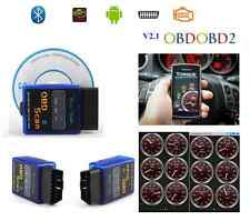 ELM MINI OBD-OBD2 SCAN ADATTATORE BLUETOOTH PER DIAGNOSI AUTO V2.1 ANDROID