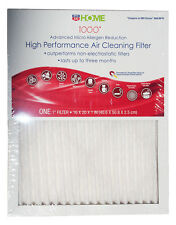 8x Electrostatic Allergen Reduction Air Filter 16x20x1 MPR 1000 by Rite-Aid