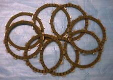 FBG KZ1000 KZ750 KZ650 OEM FIBER FRICTION CLUTCH PLATES DISCS SET 8 DRAGBIKE