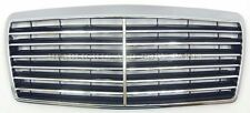 New! MB W124 Avangard 94- Front Bumper Radiator Grille Chrome Central