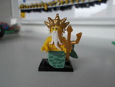 lego minifigures the ocean king  from series 7
