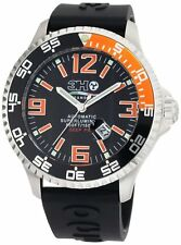3H Italia Men's DPS1AN Deep-Pro Stainless Steel Swiss Automatic Date Watch