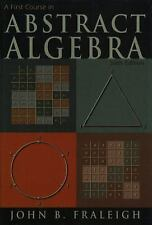 A First Course in Abstract Algebra. 6th edition. Fraleigh