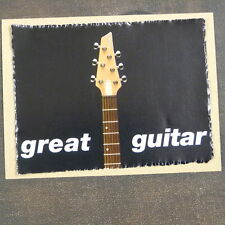 POP-KARD feat.  GREAT GUITAR - STARFIELD , 11x15 greeting card aah