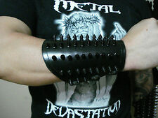 Small Black Chrome Spikes Leather Gauntlet (MDLG0239).....  MEATHOOK