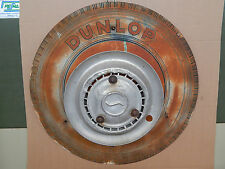 INSEGNA DUNLOP ORIGINALE VINTAGE OLD SIGN SIATA ALFA FIAT LANCIA PACKARD MG