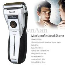 KEMEI Electric Men's Shaver Body Washable Cordless Rechargeable Wet/Dry Razor