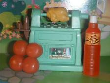 Chicken Roaster Grill Barbecue Set fits Fisher Price Loving Family Dollhouse Lot