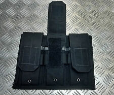 Genuine British Military / Police Black Hawk Tactical Triple Mag Pouch Assault