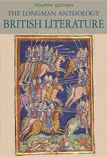 The Longman Anthology of British Literature Volume One The Middle Ages Exam Copy