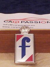 Fregio stemma PININFARINA corona attaccata ANNI 80 65mm badge emblem logo escudo
