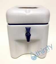Water Crock Plastic Square Counter Spigot Faucet Dispenser Valve Aqua H2O Jug