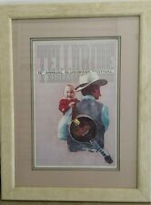 "RARE 1985 COWBOY PRINT, ""12TH TELLURIDE BLUEGRASS FESTIVAL"" BY WILLIAM MATTHEWS"