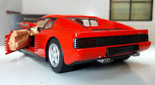 LGB G Scale 1:24 1984 Ferrari Red Testarossa Detailed Diecast Model Car 26014