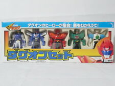 The Brave Command Dagwon Set Figure 5pcs TAKARA Robot Anime Daguon