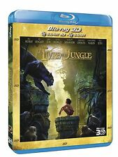 BLU RAY 3D + BLU RAY ** LE LIVRE DE LA JUNGLE  **