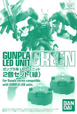 GUNPLA Led Unit Set Green Gundam BANDAI